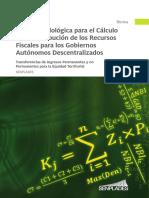 GUIA METODOLOGICA PARA EL CALCULO DE LA DISTRIBUCION DE LOS RECURSOS FISCALES PARA LOS GOBIERNOS AUTONOMOS DESCENTRALIZADOS - SENPLADES - PROYECTOS.pdf