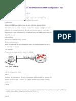 CCNA Security Lab 14 - Cisco IOS SYSLOG and SNMP Configuration - CLI