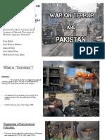 Terrorism; Impact on Pakistan's Socio-Political, Economic and Strategic Policy