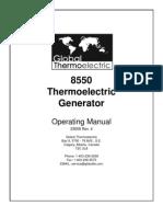 Teg 8550 Manual