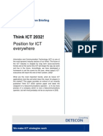 Think ICT 2032! Position for ICT Everywhere (Detecon Executive Briefing)