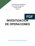 trabajo de investigacion de operaciones
