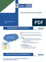 ABC - Gestión de Firma Electrónica, Firma y Cifrado.pdf (ADRES).pdf