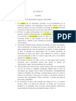 Analisis del cuento EL OTRO YO-diana