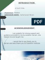 Presentation aviation