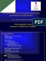 Data integration using statistical multiattribute analysis