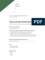 CBTis 128 - Cedula de indicadores Plataforma