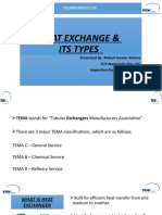 Heat Exchanger type on flow basis by Rakesh Mishra 01.04.2020
