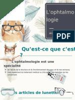 L'ophtalmologie (1)
