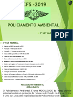 Policiamento Ambiental CFS