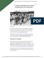 Auschwitz_ Women used different survival and sabotage strategies than men at Nazi death camp