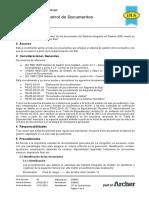 PG-02-GI-01 Elaboración y Control de Documentos