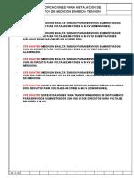 CFE EM-AT001 Medición en alta tensión