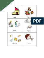 PICTOGRAMAS para actividades diarias