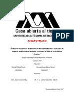NDVI como factor de impacto ambiental en la UAM Azcapotzalco