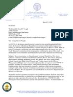 COVID-19 Rule Delay Letter - Final
