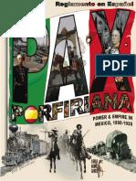 Pax Porfiriana - Reglas en español