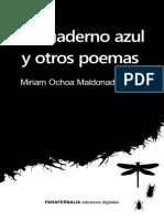 EL CUADERNO AZUL Y OTROS POEMAS
