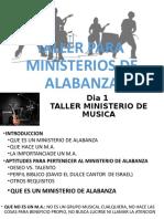 TALLER MINISTERIO DE ALABANZA