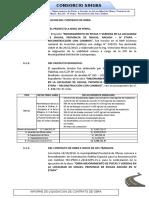 LIQUIDACION DE OBRA PISTAS Y VEREDAS. SIHUAS - ANCASHSIHUAS