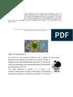 Material de lectura COVID-19