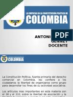 DIAPOSITIVAS LA EMPRESA EN LA CONSTITUCION POLITICA (1)