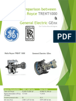 Comparison between trent 1000 and genx