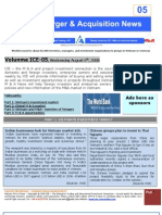 ICE05-Mergers & Acquisitions NEWS