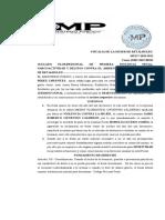 ARCHIVO Y DESESTIMACION PAOLA
