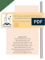 GESTION INTEGRAL DE RESIDUOS DE CONSTRUCCION