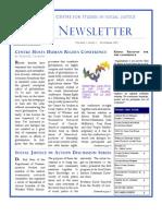 CSSJ Newsletter Fall 2005