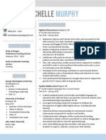 murphy resume 2020