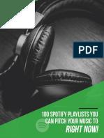 100+Spotify+playlists