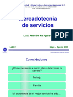 Presentación Mkt Servicios LMkt 6° 2016 may-ago