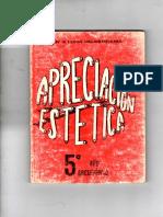APRECIACIÓN ESTÉTICA