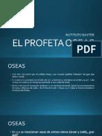 1 EL PROFETA OSEAS 2019
