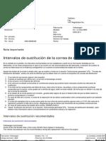 distribucion fox 1.4 motor BKR