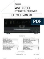 HARMAN KARDON AVR7200