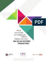 Formacion Para El Trabajo en Chile-rol de Los Sectores Productivos Cpc Fch 05.09.2017
