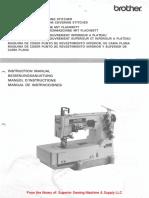 Brother FD4-B271, -B272 Instruction Manual