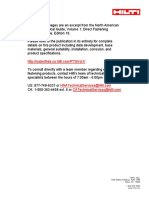 HILTI X-HSN-24-Product-Data