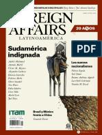 FOREIGN AFFAIRS LATINOAMÉRICA ABRIL-JUNIO 2020