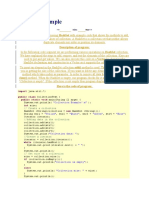HashSet Example