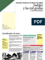 Dambrosi, Alejandro & Hüppi, María José - Sadako y las mil grullas