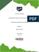 GUIA DE CONTENIDOS MÓDULO I - SISTEMA SOTEO ARTRO MUSCULAR - PDF