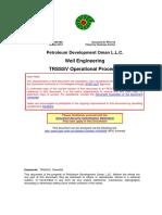 Well Engineering TRSSSV Operational Procedure