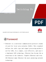 OHPSW1101 Ethernet Switching Principles ISSUE1.00