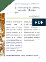 Articulo UNAM pedagogía 2016