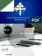 Gestión Educativa S 1