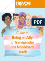 Guide to Being an Ally to Transgender and Nonbinary Youth
